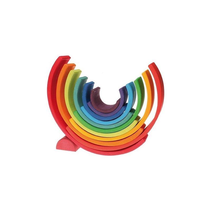 Arc en ciel multi-couleurs Grimm's stimuleur d'imagination