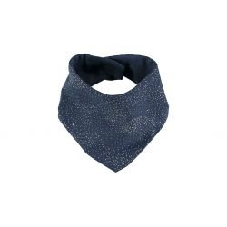Bandana tissu bubble bleu...