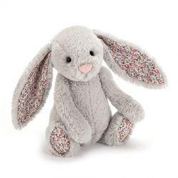 Petit lapin Gris Blossom 18 cm