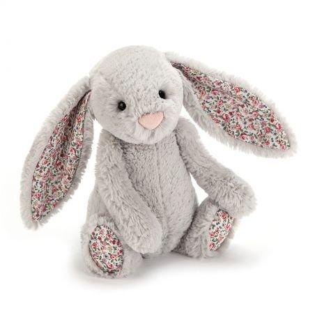 Petit lapin Gris Blossom 18 cm par Jellycat