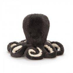 Pieuvre Inky noir 23 cm