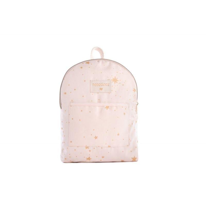 design intemporel 8c3e8 67145 Petit sac à dos Rose pâle étoiles