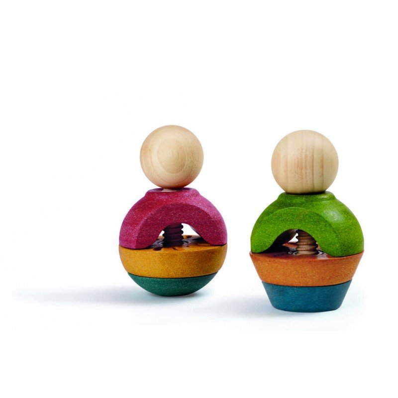 Jouet en bois à visser de manière créative - Plan Toys