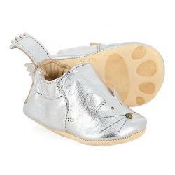Chaussions cuir blumoo chat silver