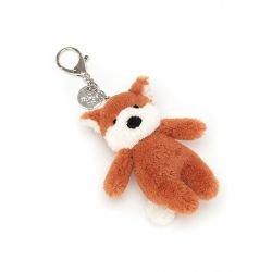 Porte clé peluche renard