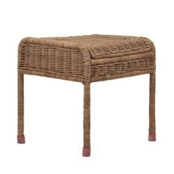 Tabouret osier naturel
