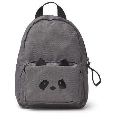 nouveau concept 317cc 70e17 Petit sac à dos panda gris