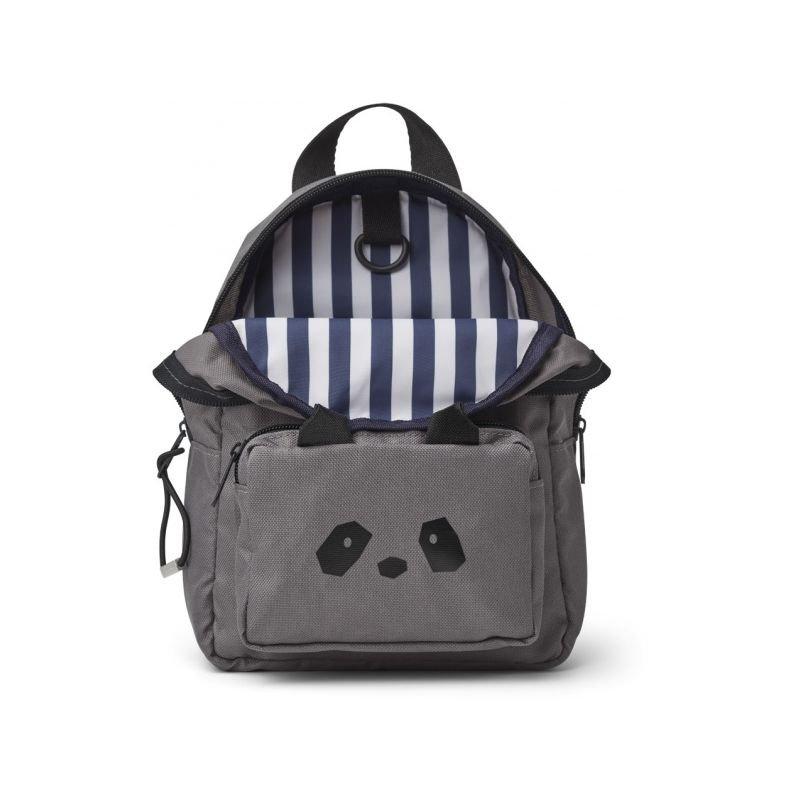 Petit sac à dos panda gris
