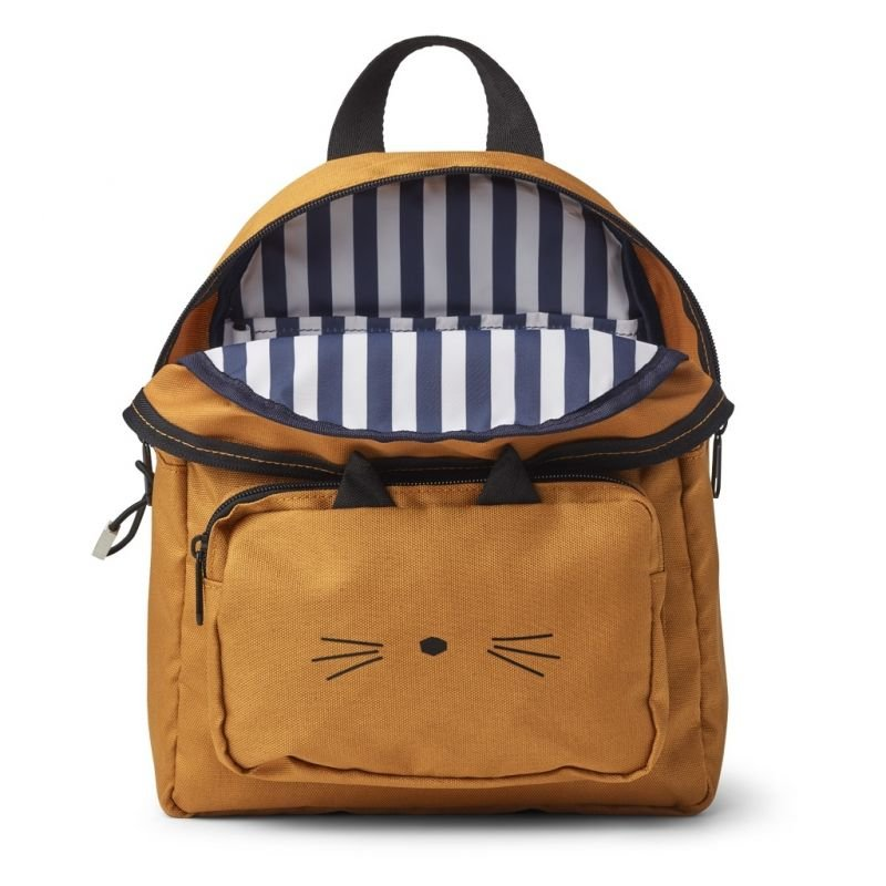 Sac à dos Chat moutarde