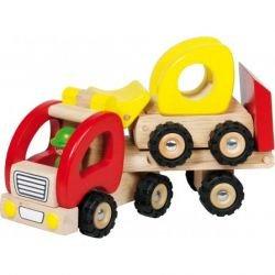 Camion plateau en bois