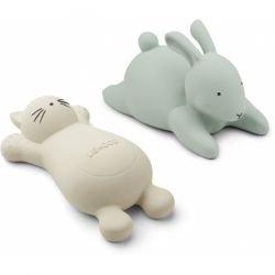 2 jouets pour le bain Vert...