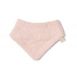 Bandana bébé en éponge rose par Nobodinoz