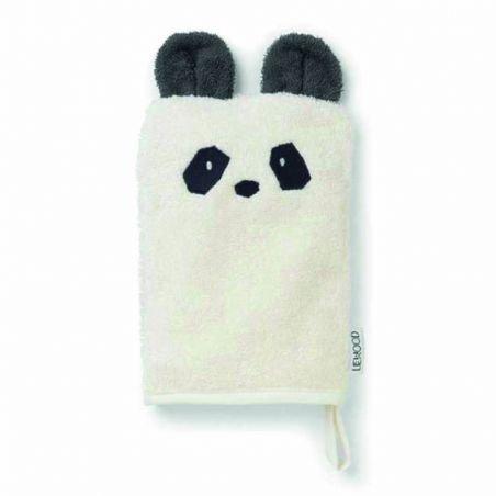 Gant de toilette panda