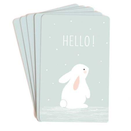 10 mini cartes Hello you