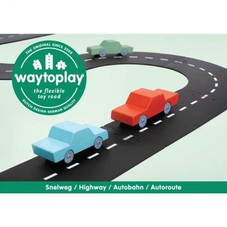 Routes flexibles 24 pièces - autoroute