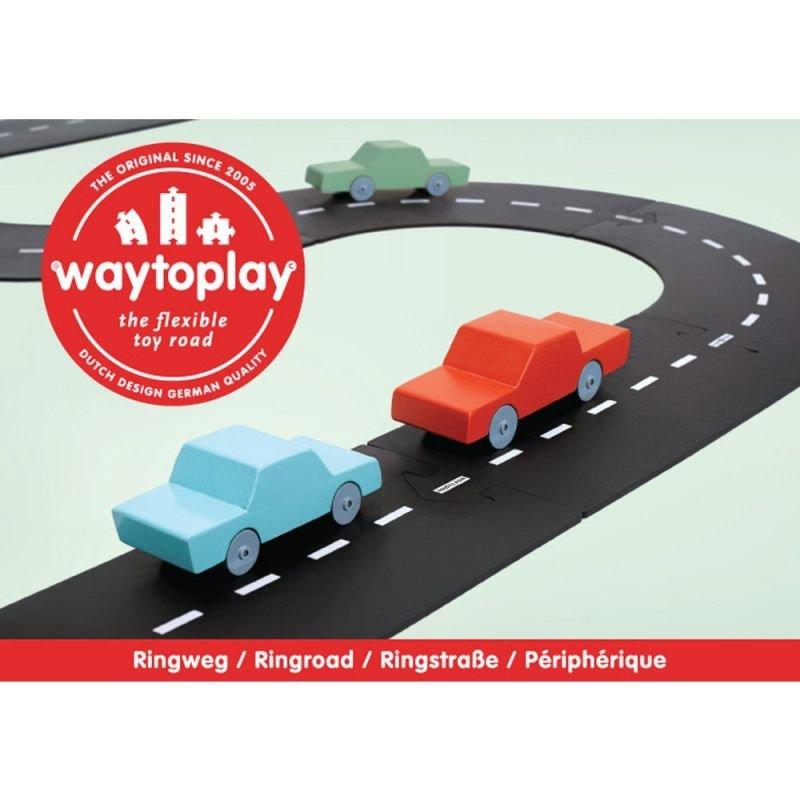 12 pièces de routes flexibles en PVC souple pour jouer et créer une route