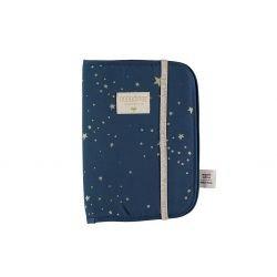 Protège carnet Poema | Bleu...