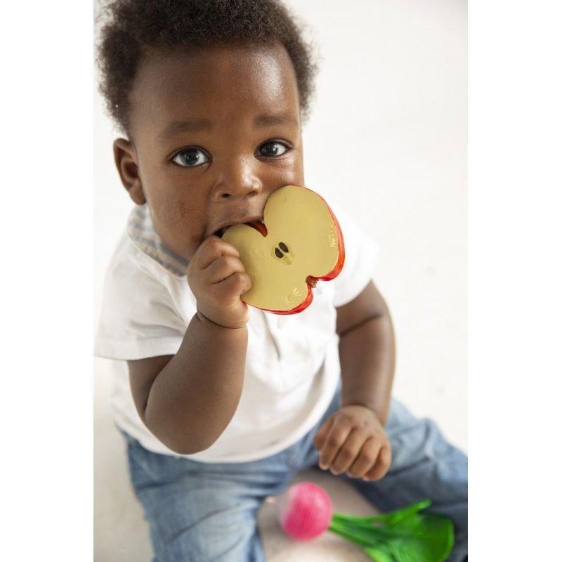 Jouet de dentition Pomme à mâchouiller