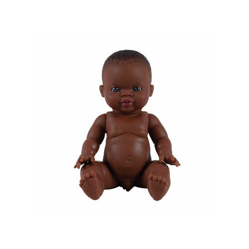 Poupée garçon Afrique yeux clairs