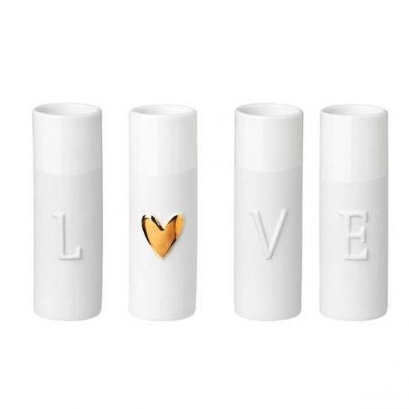 Mini vases love