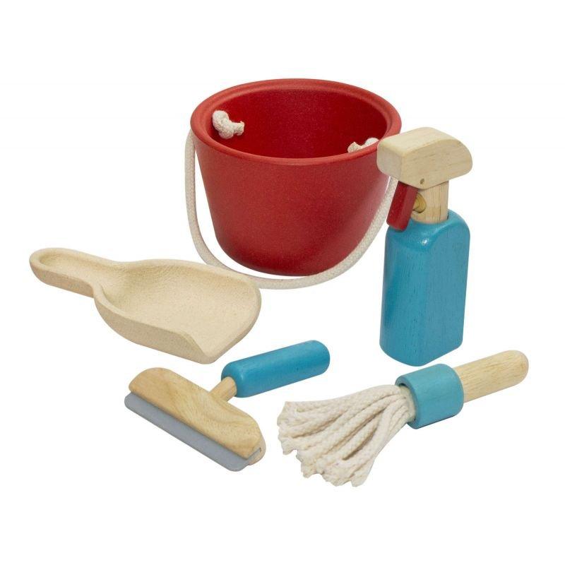 Set de ménage en bois - Plan toys