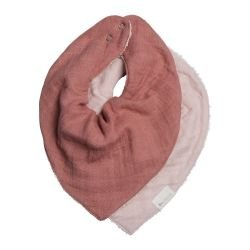 Lot de 2 bandanas Rose