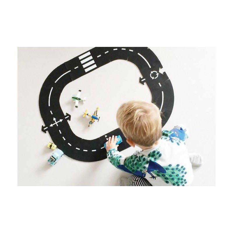16 pièces de routes en PVC de Way to play