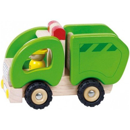 Camion poubelle en bois Goki