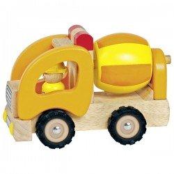 Camion toupie en bois Goki