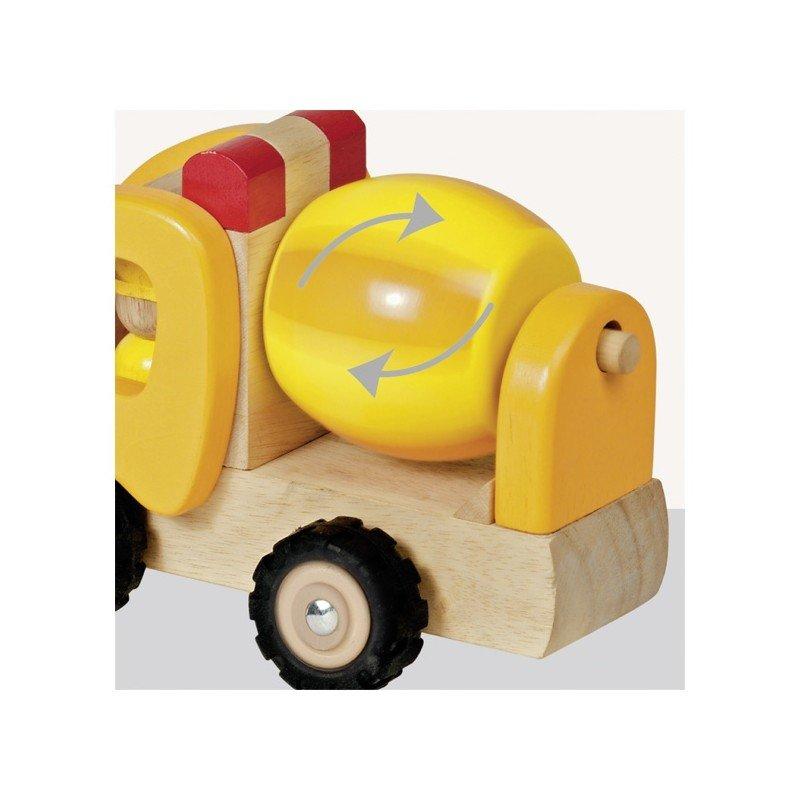 Fonctionnement du camion toupie en bois