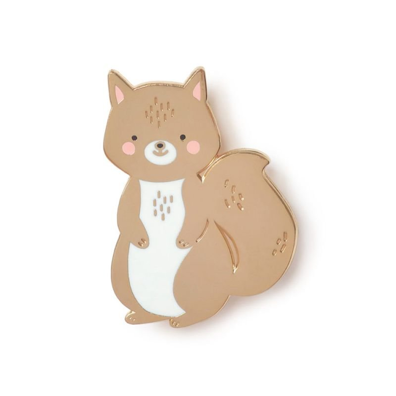 Pin's écureuil