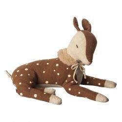 Doudou Bambi Marron