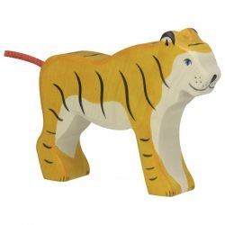 Tigre en bois