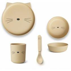 Box repas en bambou | Chat...
