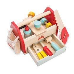 Boîte à outils en bois