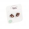 Boucles d'oreilles Biches