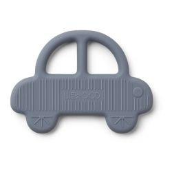 Anneau de dentition voiture en silicone bleu
