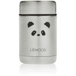 Pot alimentaire isotherme Panda acier