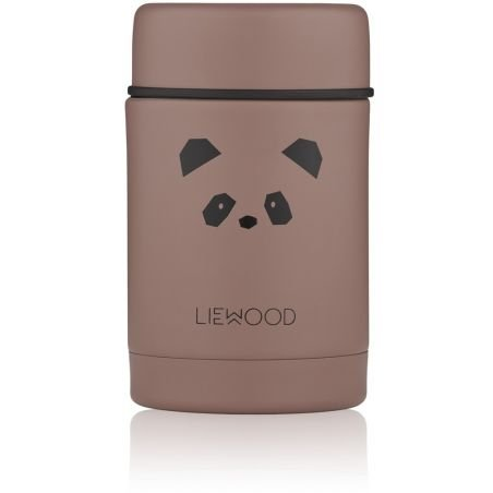 Pot alimentaire isotherme Panda rose