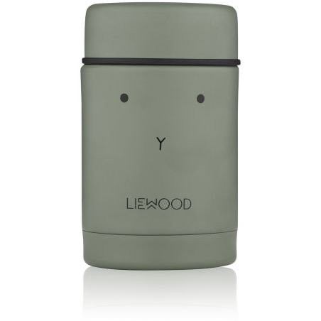Pot alimentaire isotherme Lapin vert