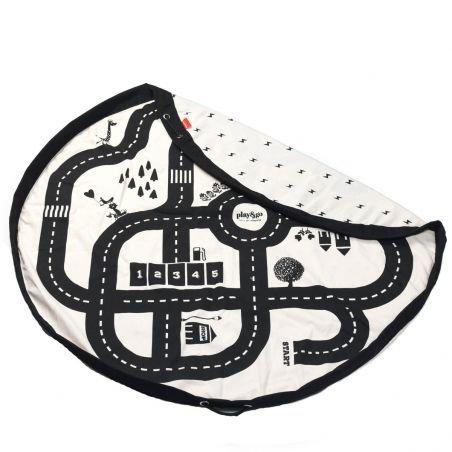 Tapis de jeu et sac de rangement «routes»