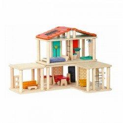 Maison modulable en bois par Plan Toys
