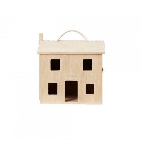 Maison de poupée Holdie ouverte par Olliella de face