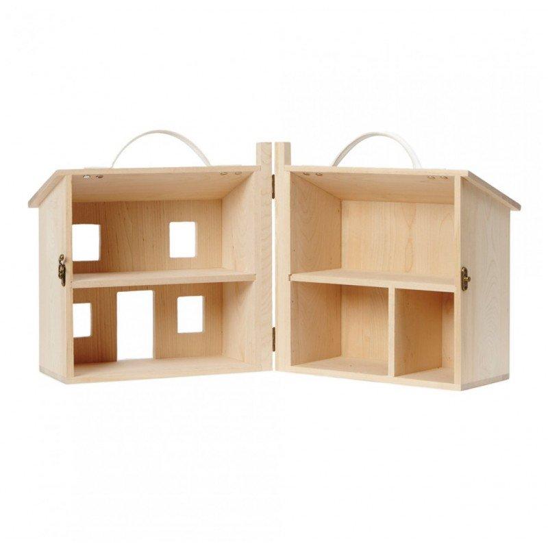 Maison de poupée Holdie ouverte par Olliella
