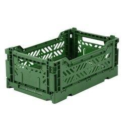 Mini caisse pliable | Vert...