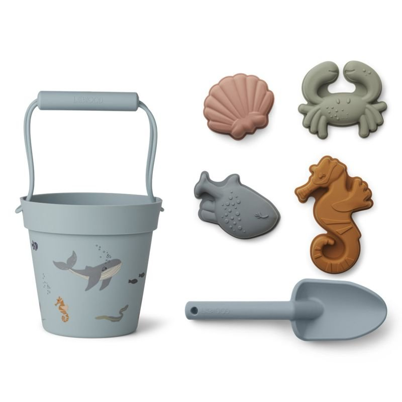 Set de plage en silicone Créatures de la mer