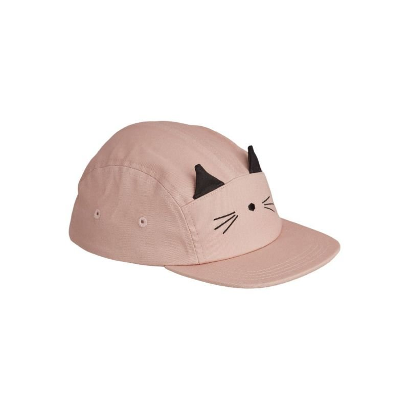 Casquette   Chat rose
