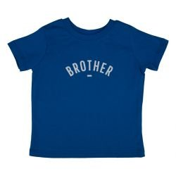 Tshirt brother bleu manches...