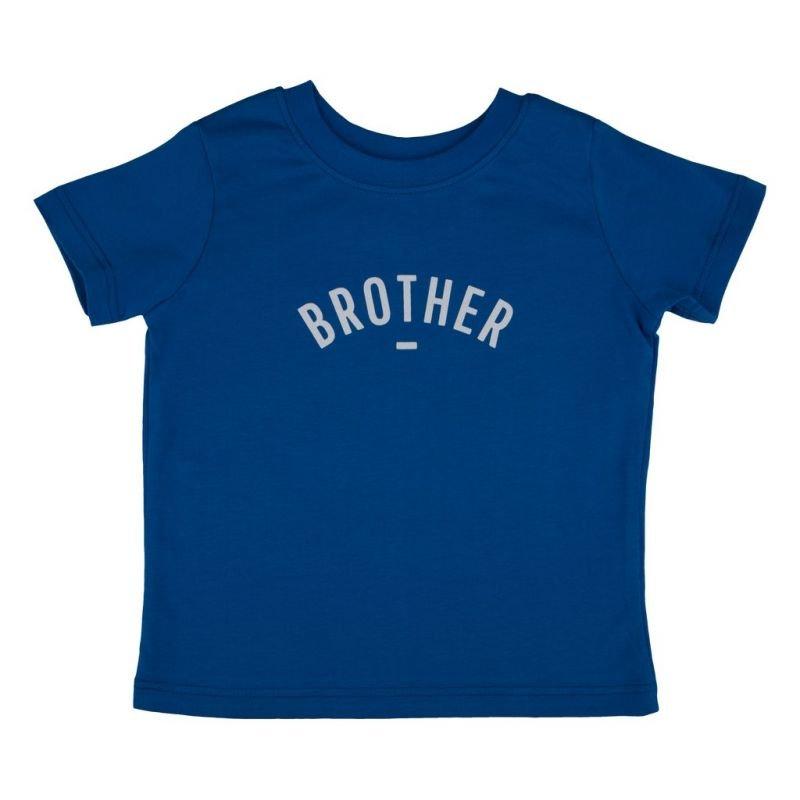 Tshirt brother bleu manches courtes