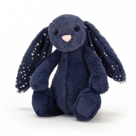 Petit lapin bleu Stardust 18 cm
